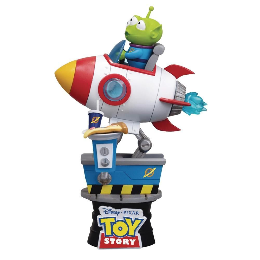 ALIEN COIN RIDE - D-STAGE - TOY STORY - BEAST KINGDOM