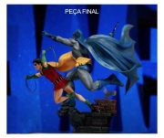 BATMAN & ROBIN DELUXE ART SCALE 1/10 - DC COMICS BY IVAN REIS - IRON STUDIOS