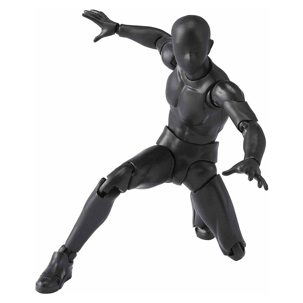 BODY KUN DX SET 2 (SOLID BLACK COLOR) S.H. FIGUARTS - BANDAI