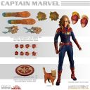 CAPTAIN MARVEL ONE:12 COLLECTIBLES - CAPTAIN MARVEL - MEZCO
