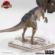 DILOPHOSAURUS BDS ART SCALE 1/10 - JURASSIC PARK - IRON STUDIOS