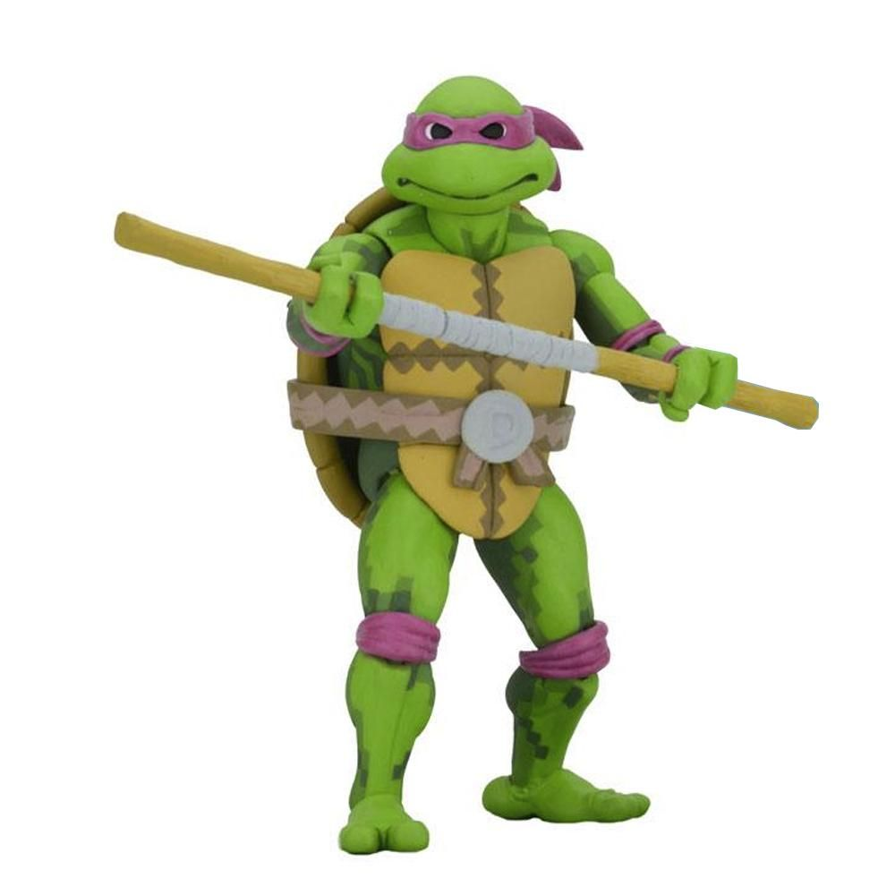 DONATELLO TURTLES IN TIME SERIES 1 7'' - TMNT - NECA