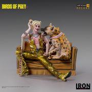 HARLEY QUINN & BRUCE DELUXE ART SCALE 1/10 - BIRDS OF PREY DC - IRON STUDIOS