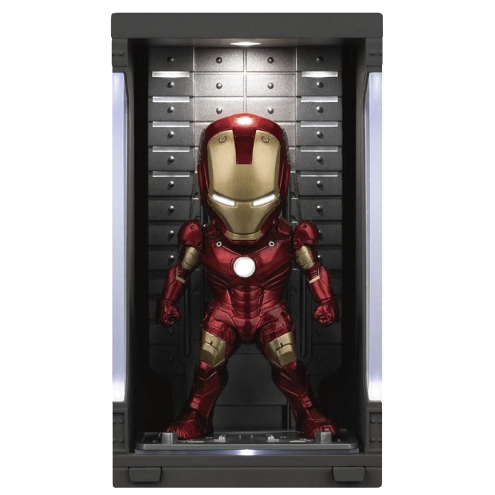 IRON MAN MK 3(WITH HALL OF ARMOR) MINI EGG ATTACK - IRON MAN 3 - BEAST KINGDOM