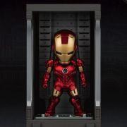 IRON MAN MK 4 (WITH HALL OF ARMOR) MINI EGG ATTACK - IRON MAN 3 - BEAST KINGDOM
