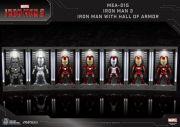 IRON MAN MK 6 (WITH HALL OF ARMOR) MINI EGG ATTACK - IRON MAN 3 - BEAST KINGDOM