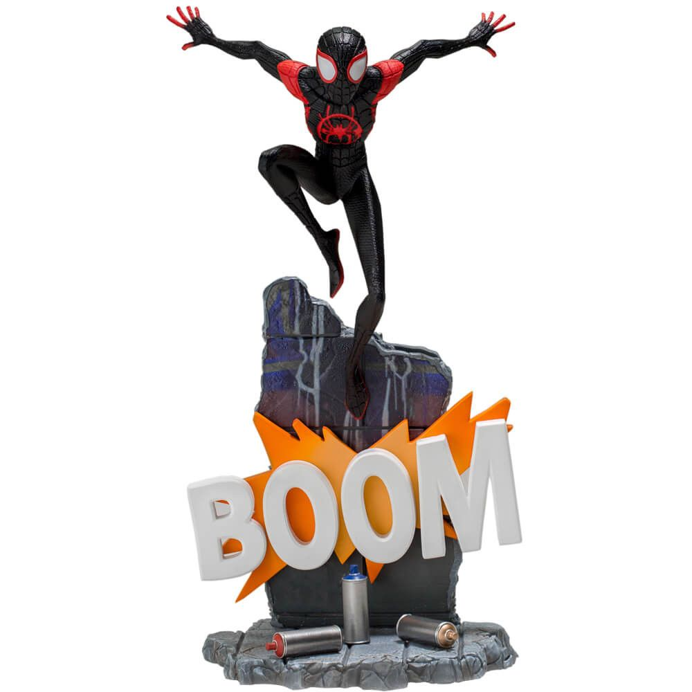 MILES MORALES BDS ART SCALE 1/10 - SPIDER-MAN: INTO THE SPIDER-VERSE - IRON STUDIOS