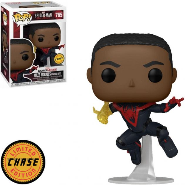MILES MORALES CLASSIC SUIT CHASE - 765 - FUNKO POP