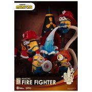 MINIONS FIRE FIGHTER D-STAGE 049 - MINIONS - BEAST KINGDOM