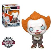 PENNYWISE WITH GLOW BUG (SPECIAL EDITION) IT - 877 - FUNKO POP