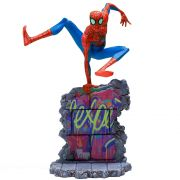 PETER B. PARKER BDS ART SCALE 1/10 - SPIDER-MAN: INTO THE SPIDER-VERSE - IRON STUDIOS