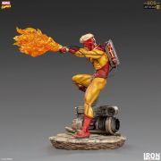 PYRO BDS ART SCALE 1/10 - X-MEN MARVEL COMICS - IRON STUDIOS