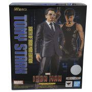 TONY STARK (BIRTH OF IRON MAN) S.H. FIGUARTS - IRON MAN - BANDAI