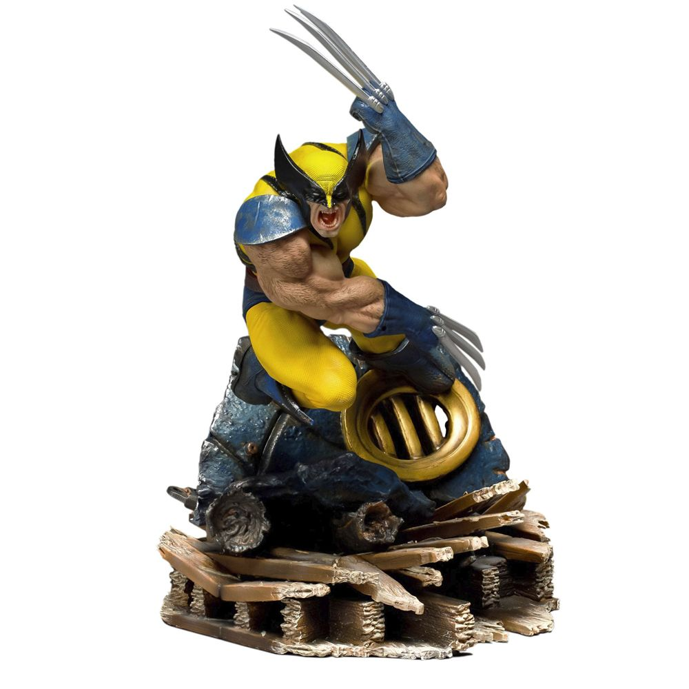 WOLVERINE BDS ART SCALE 1/10 - X-MEN MARVEL COMICS - IRON STUDIOS